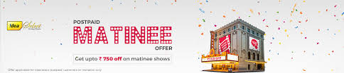 bookmyshow dhule idea sim card movie ticket offers discount bookmyshow