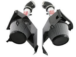 white nissan 350z afe power takeda stage 2 pro dry s dual intake system nissan 350z