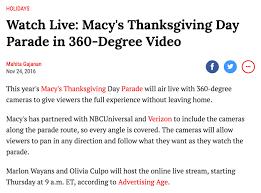 verizon 360º live parade nickbayne personal network