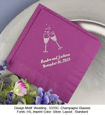 personalized wedding napkins personalized wedding napkins 50 pcs personalized napkins