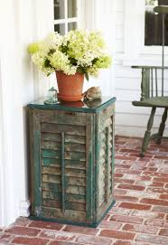 Tables Made From Doors by These 25 Diy Shutter Projects Will Ignite Your Rustic Style
