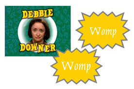 did debbie downer start womp womp