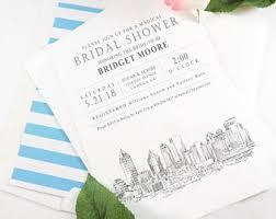 Wedding Invitations Atlanta Skyline Wedding Invitations U0026 Save The Date By Magicwandweddings