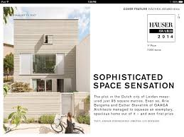 "Review H""USER The iPad Magazine for Architecture and Design"