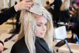 where to place foils in hair mint green hair color step by step steven robertson bangstyle