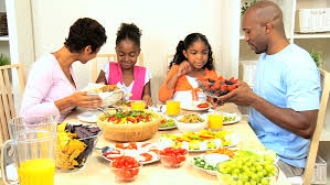 a family gathering at the dinner table stock footage 1637338