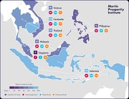 Southeastern Asia Map by Insight Creativity In Southeast Asia Martin Prosperity Institute