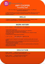 Accounting Clerk Resume Examples by Accounting Clerk Resume Template Free Resume Templates