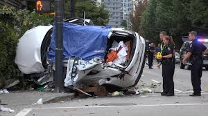 lexus dealership vancouver canada horrific fatal car crash seymour st u0026 dave st vancouver canada 4k