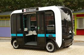 olli self driving electric bus by ibm u0027s watson and local motors