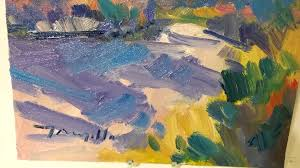 Abstract Landscape Painting by Jose Trujillo Artist Oil Painter Modern Abstract Landscape