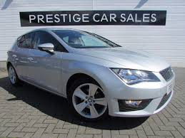 seat leon 2 0 tdi fr 5d 150 bhp silver 2014 in leicester