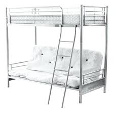 White Futon Bunk Bed Heavy Duty Wood Bunk Beds New Bed Tar Metal For S