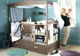 babyzimmer grün wandgestaltung kinderzimmer junge grün braun attraktive auf