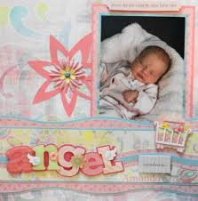 baby girl scrapbook album baby girl scrapbook album 1 me and my cricut