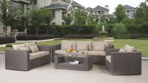 Patio Furniture Resin Wicker by All Set Resin Wicker Furniture At Whole Outdoor Best Outdoor Patio