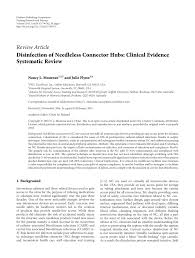 Barnes And Noble Hr Access Website Disinfection Of Needleless Connector Hubs Clinical Evidence