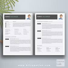 Creative Resume Templates For Mac Creative Resume Template Cover Letter Word Modern Simple