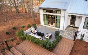 Deck And Patio Design by Dream On What I Like Is The Mixed Medium Gravel W Wood W Stone