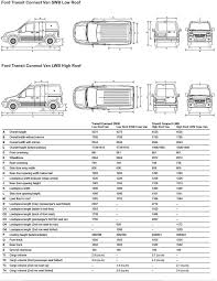Vauxhall Combo Interior Dimensions Ford Transit Connect Trunk Dimensions Ford Transit Connect
