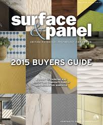 surface u0026 panel buyers guide 2015 by bedford falls communications