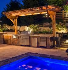 Pool With Pergola by Outdoor Structures U2013 Pergolas Burkholder Landscape