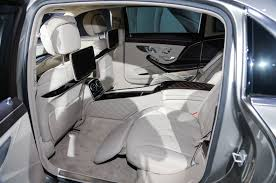 inside maybach mercedes maybach interieur interior mercedes maybach g landaulet