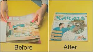 ikea magazine ikea cheekily makes fake magazine covers to save its catalogs from