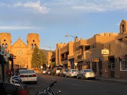 favorite street in santa fe nm includes la fonda restaurant the