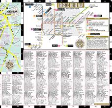 Streetwise Maps Streetwise Brussels Map Laminated City Center Street Map Of