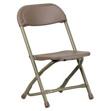 Folding Chairs Home Depot Flash Furniture Kids Brown Plastic Folding Chair Ykidbn The Home