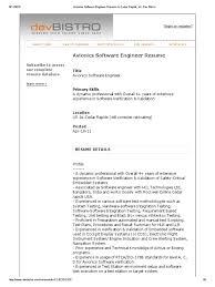 Avionics Technician Resume Amazing Avionics Engineering Resume Contemporary Best Resume