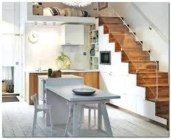 table avec rangement cuisine ilot central avec rangement cuisine cuisine central table