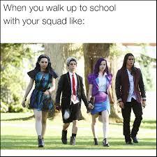 Walking Meme - memes for the disney channel original movie descendants