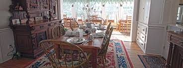 The Dining Rooms The Dining Room Phineas Swann Bed And Breakfast Inn