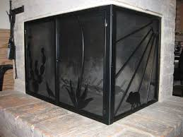 fireplace screens appleby s ornamental iron