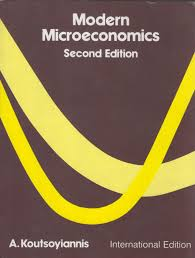 modern microeconomics 2e koutsoyiannis 2nd revised edition edition