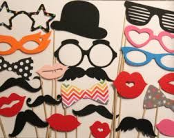 mustache party 125 photobooth props mustache party wedding photo