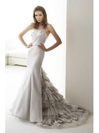 silver wedding dresses for the beach wedding the wedding