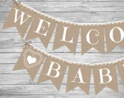 baby shower banner imposing ideas banner for baby shower captivating etsy baby
