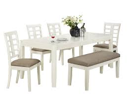 dining room large rectangle white wooden extendable target dining