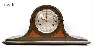 Mantel Clocks Antique Antique Seth Thomas No 124 Westminster Chime Tambour Mantel Clock