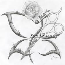 tattoo designe scissors by lil shegan on deviantart