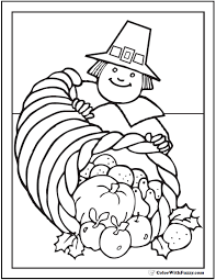 68 thanksgiving coloring customizable pdfs