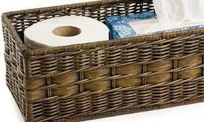 Wicker Basket Bathroom Storage Wicker Baskets For Bedroom Bathroom Storage The Basket
