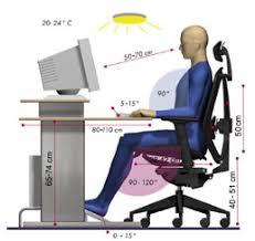 bonne position au bureau posture de travail assise et mal de dos les effets sur la santé