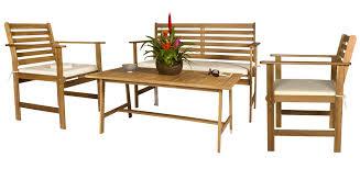 chaise et table de jardin pas cher chaise de salon de jardin en acacia idées de décoration capreol us