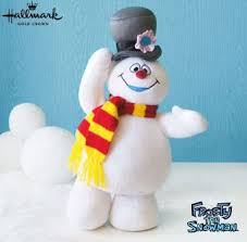 2010 frosty the snowman plush