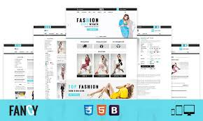 fancy elegant fashion bootstrap ecommerce html template themetidy