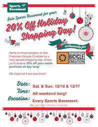 Sport Basement Hours by Sports Basement Shopping Day